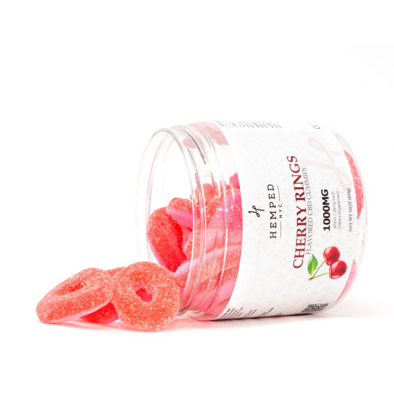 Cherry Rings CBD Gummies