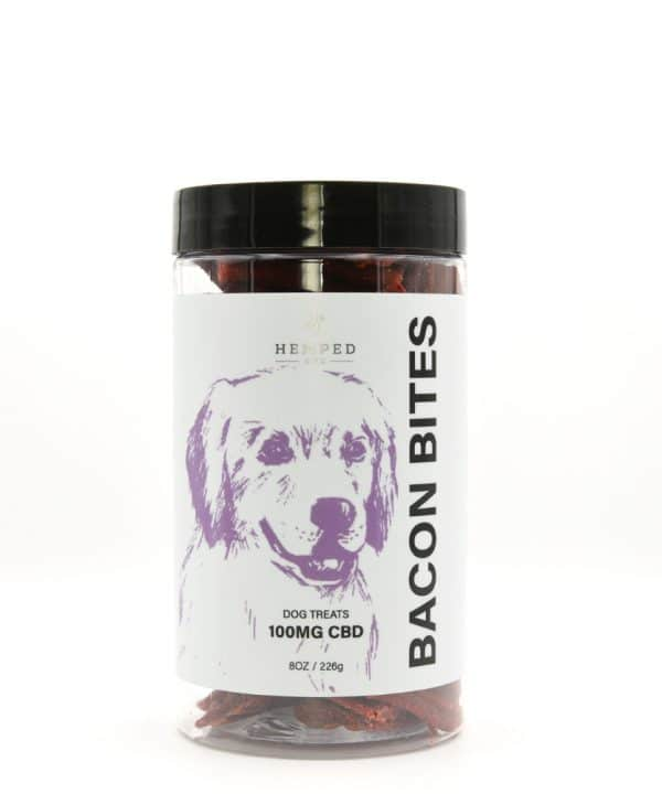 CBD Bacon Bites Pet Treat 100MG