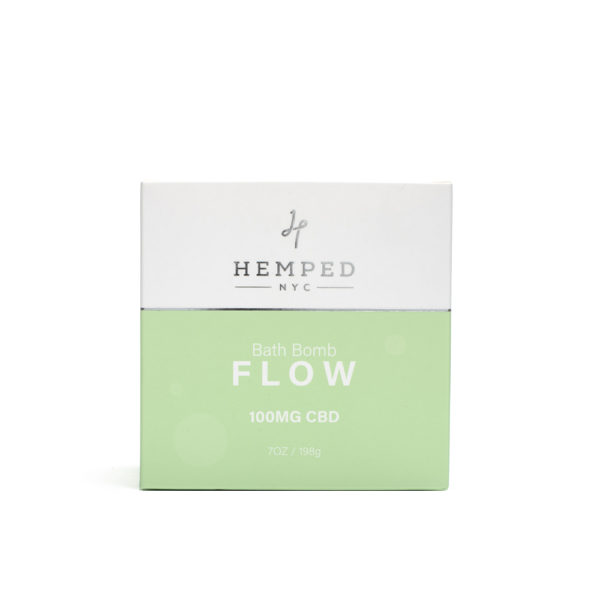 Flow CBD Bath Bomb 100MG