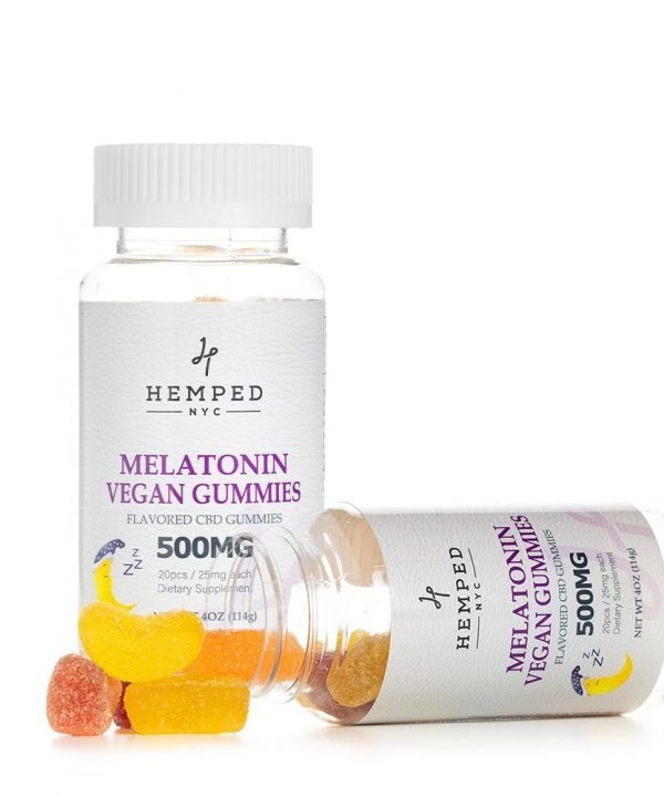 Vegan Melatonin CBD Gummies