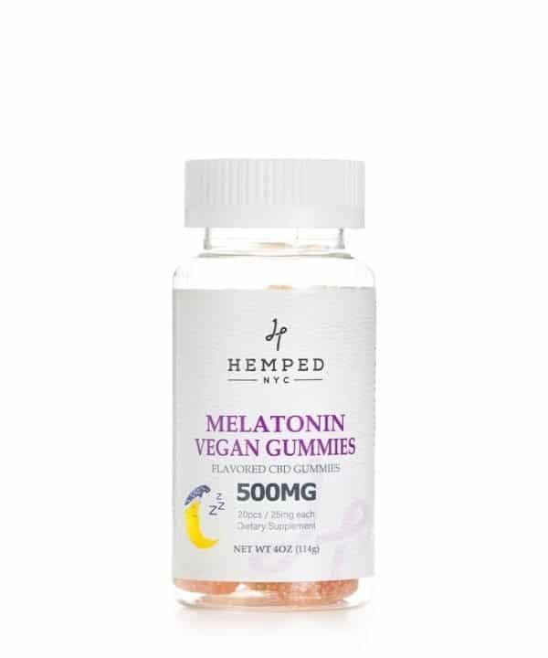 500MG Vegan Melatonin CBD Gummies