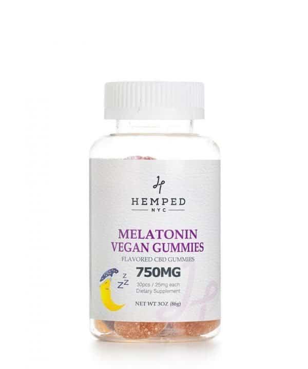 750MG Vegan Melatonin CBD Gummies