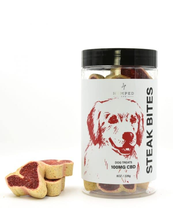 CBD Steak Bites Pet Treat 100MG