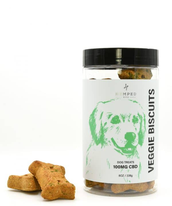 CBD Veggie Biscuits Pet Treats 100MG