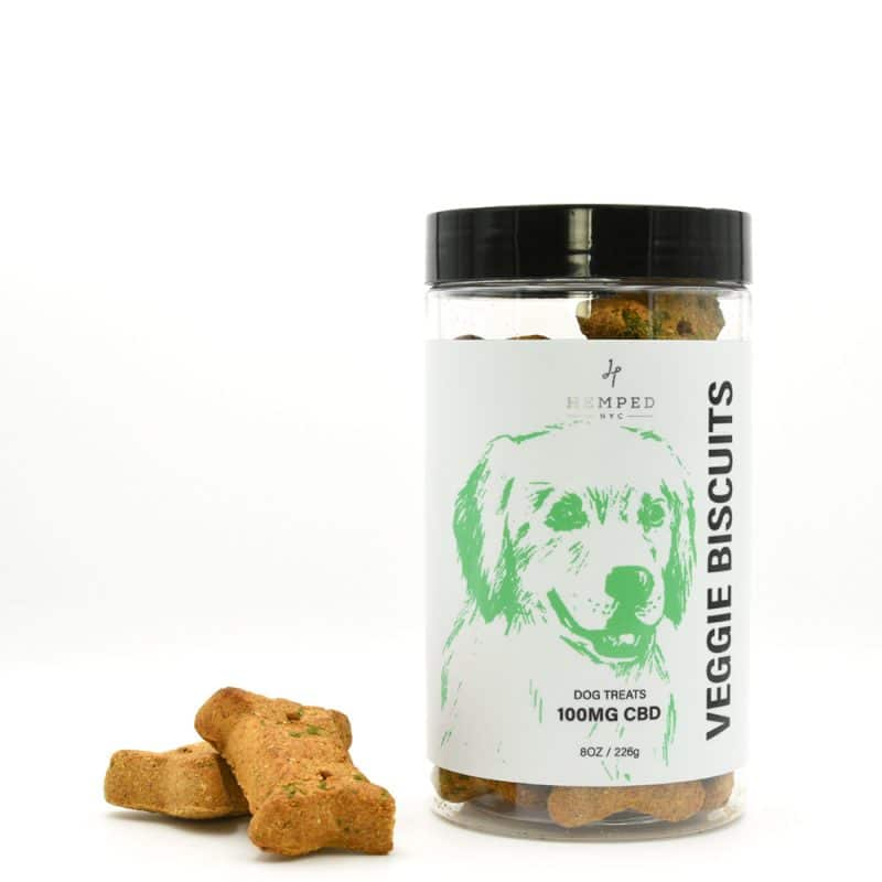 CBD Veggie Biscuits Pet Treats 100MG