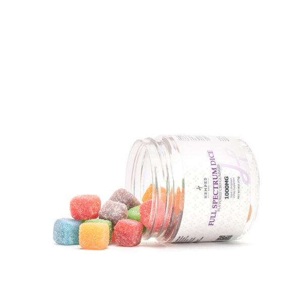 Full Spectrum CBD Gummy Dice