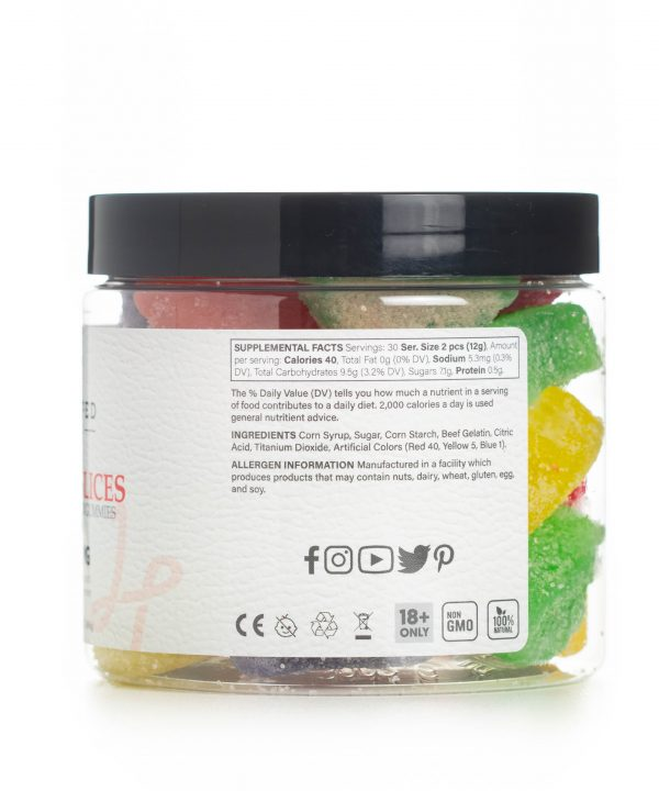 Fruit Slices CBD Gummies Info