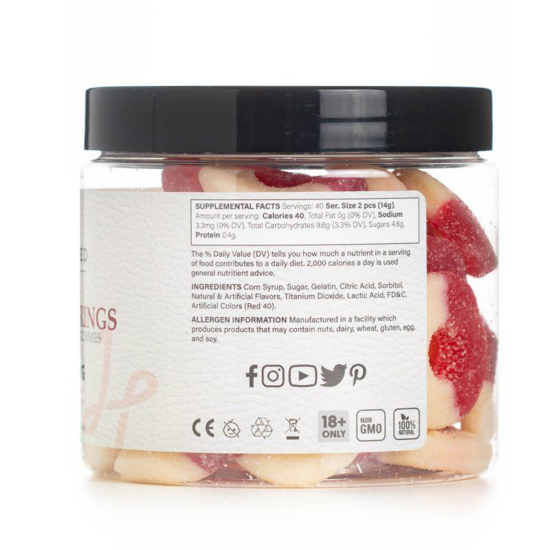 Cherry Rings CBD Gummies Info