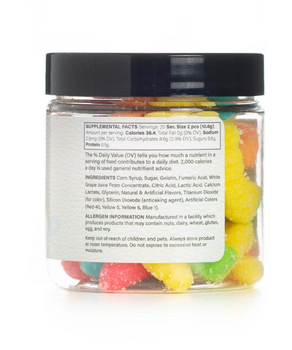 Sour Worms CBD Gummies Info