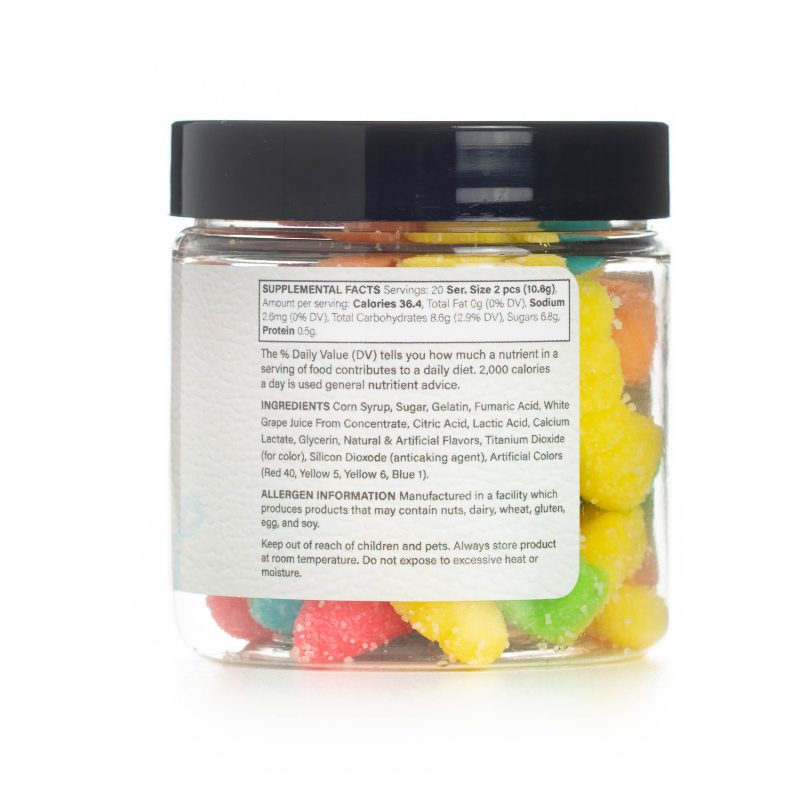 Sour Worms CBD Gummies Info