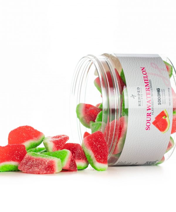 Sour Watermelon CBD Gummies