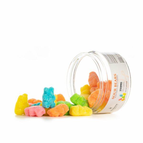1000MG Sour Bears CBD Gummies