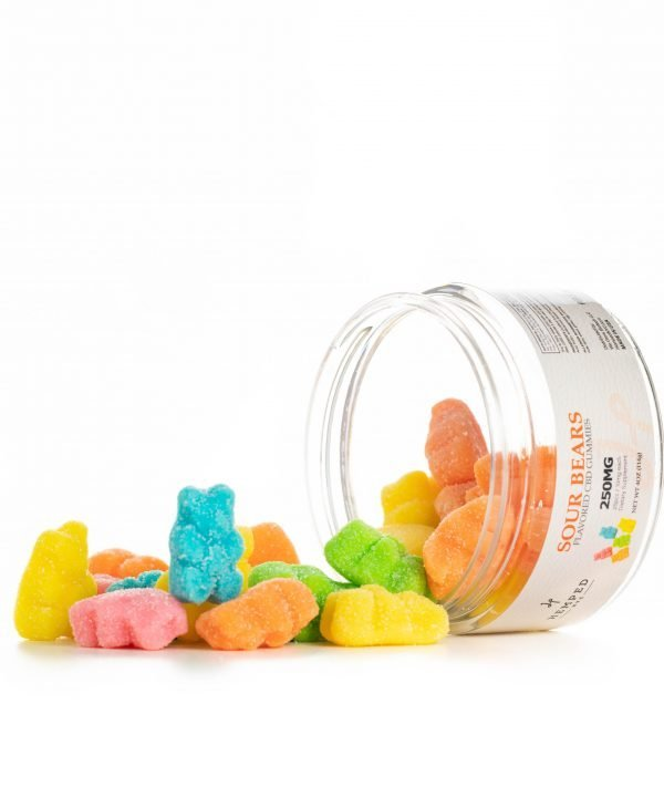 1000MG Sour Bears CBD Gummies