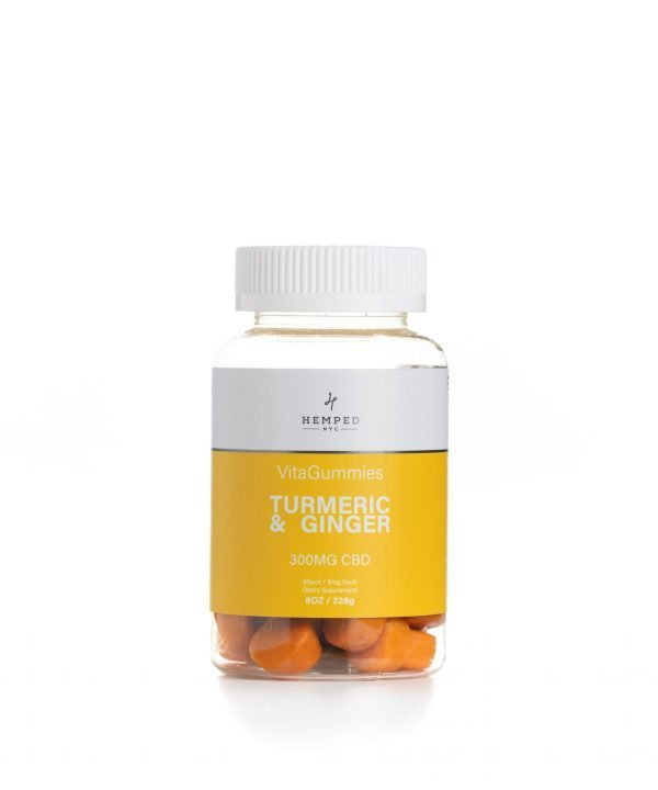 300MG CBD Turmeric And Ginger Vitamins Gummies