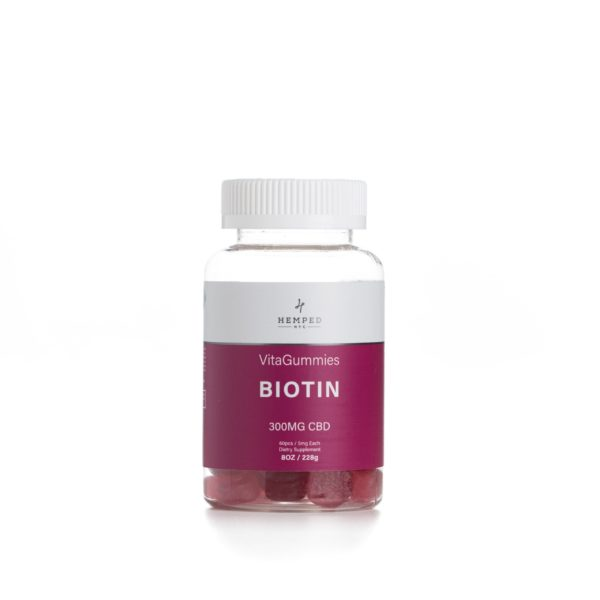300MG CBD Biotin Vitamin Gummies