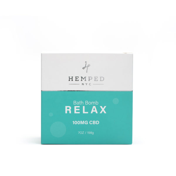 Relax CBD Bath Bomb 100MG
