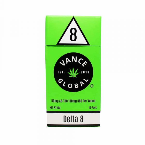 DELTA 8 Pre Rolled Flower 10 Pack 1000MG