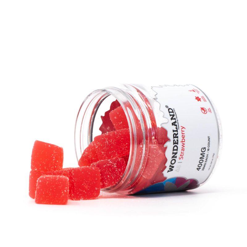 Δ8 Gummies Strawberry 400MG