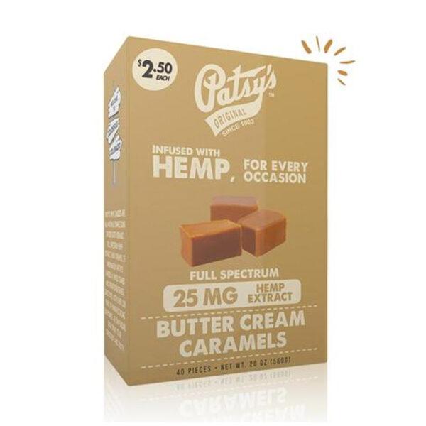 CBD butter cream caramels