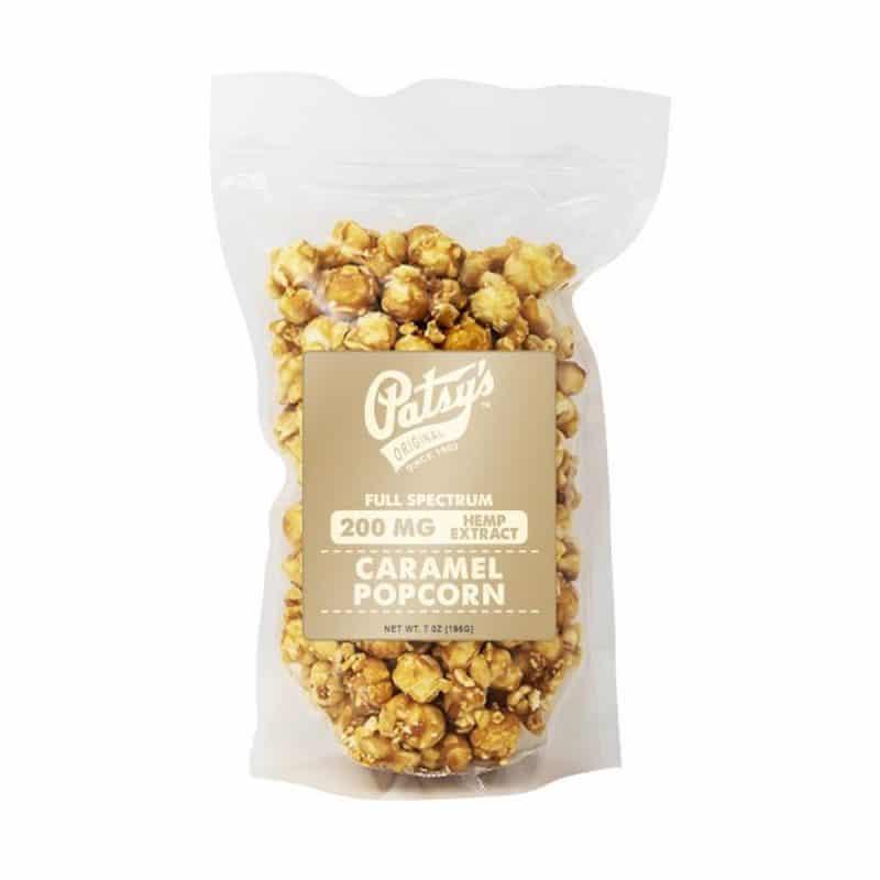cbd caramel popcorn