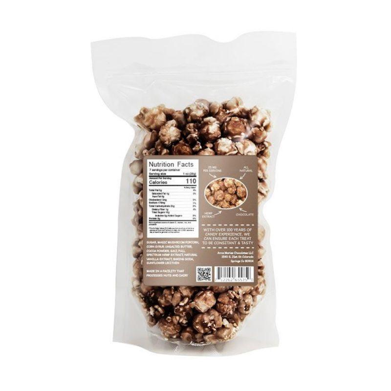 CBD chocolate popcorn